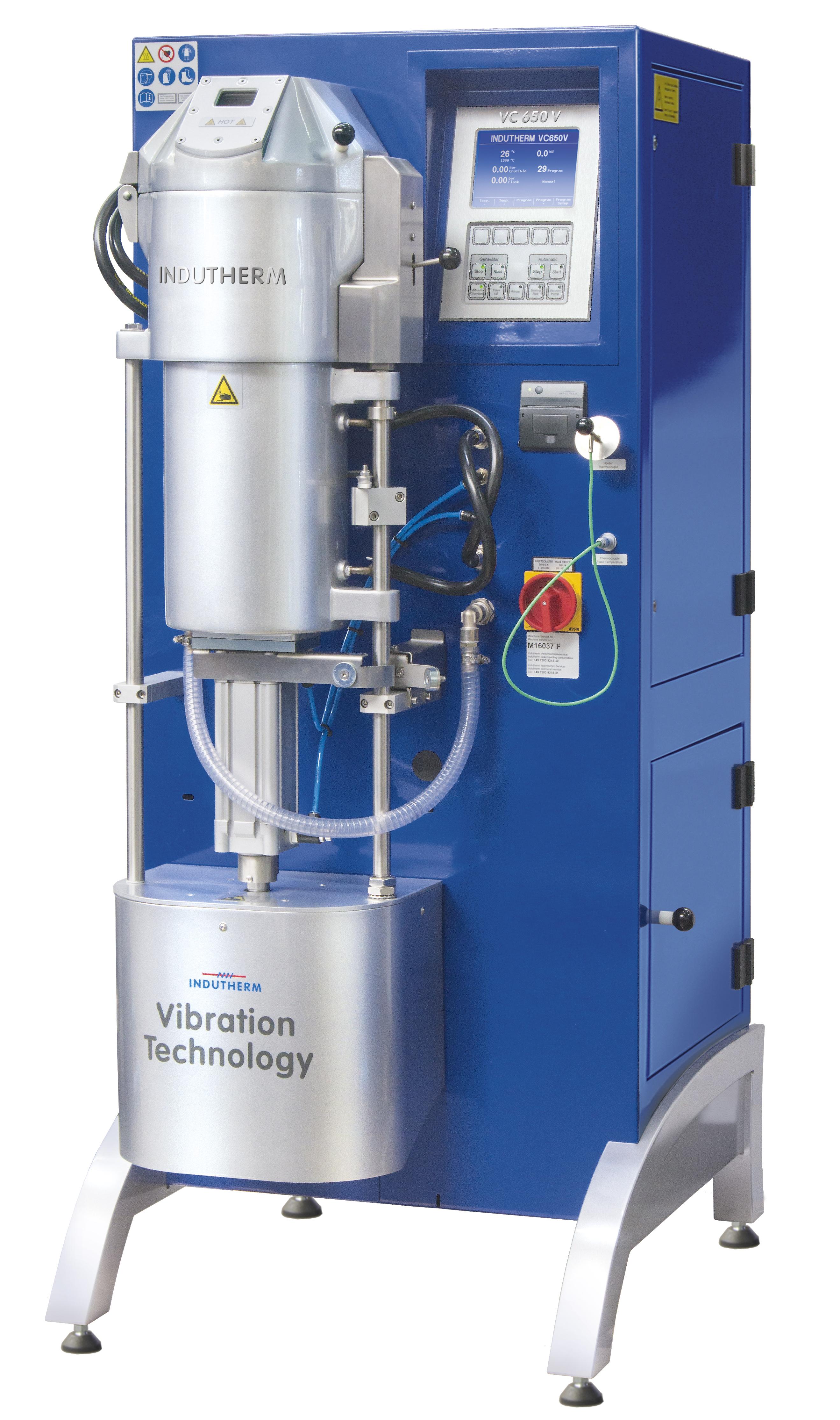 Indutherm Fully Automatic Vacuum Casting Machine - 650V