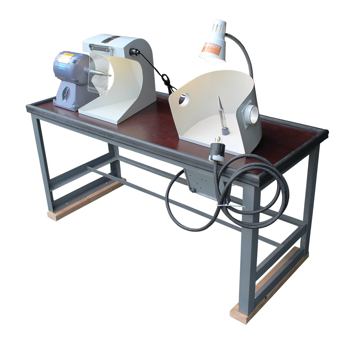 Polishing Bench Systems - 1 Polishing Motor & 1 Split Lap - 110V/220V